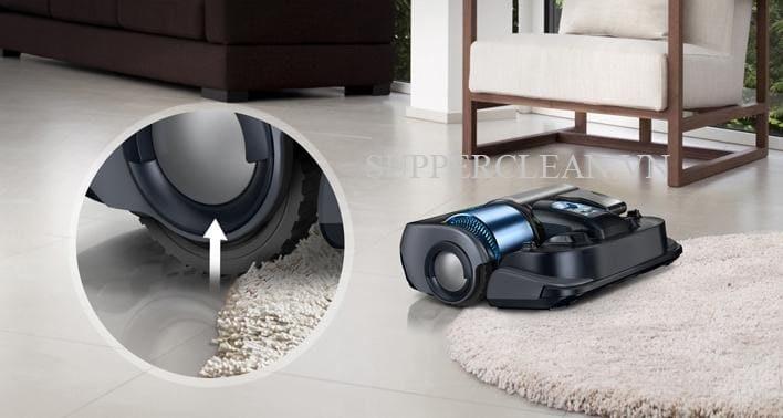 những chú robot của Samsung dễ dàng di chuyển trên nhiều địa hình