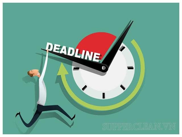 deadline có phải là áp lực hay không