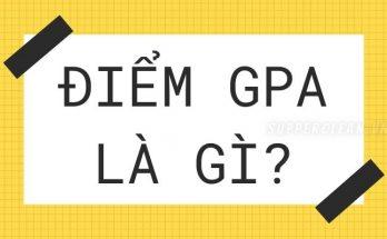 GPA là điểm gì