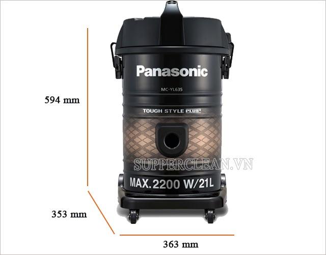 máy hút bụi Panasonic MC-YL635TN46 nhỏ gọn