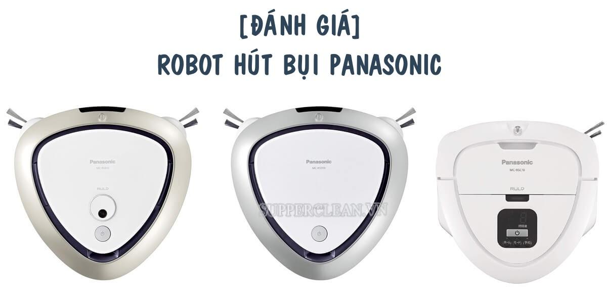 robot lau nhà panasonic