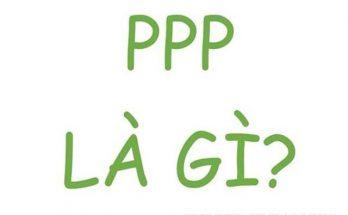 ppp là gì