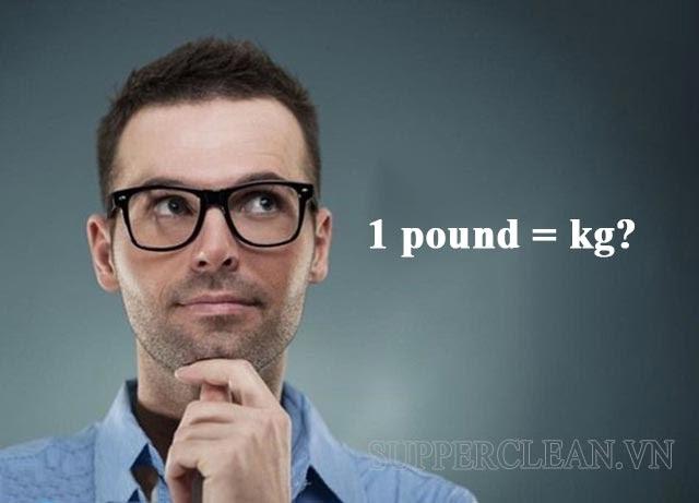 1 pound to kg