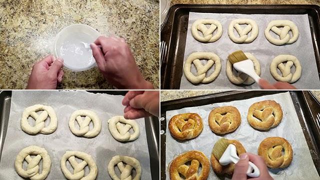 cách làm bánh mì xoắn