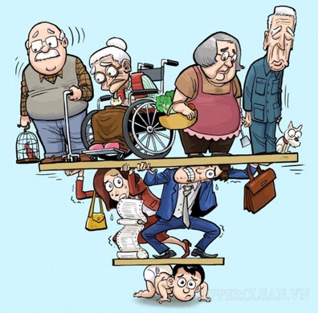 già hóa dân số