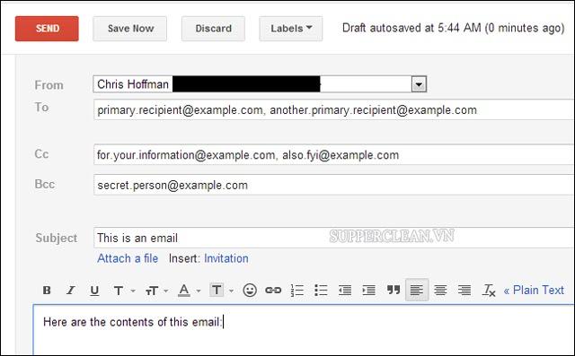 thư điện tử
