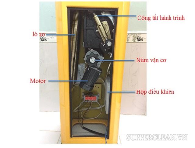 cấu tạo thân vỏ barrier (tủ barrier)