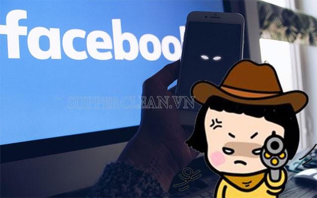 bị theo dõi trên facebook