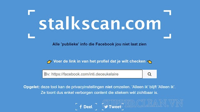công cụ theo dõi người khác trên Facebook