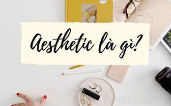 aesthetic là gì