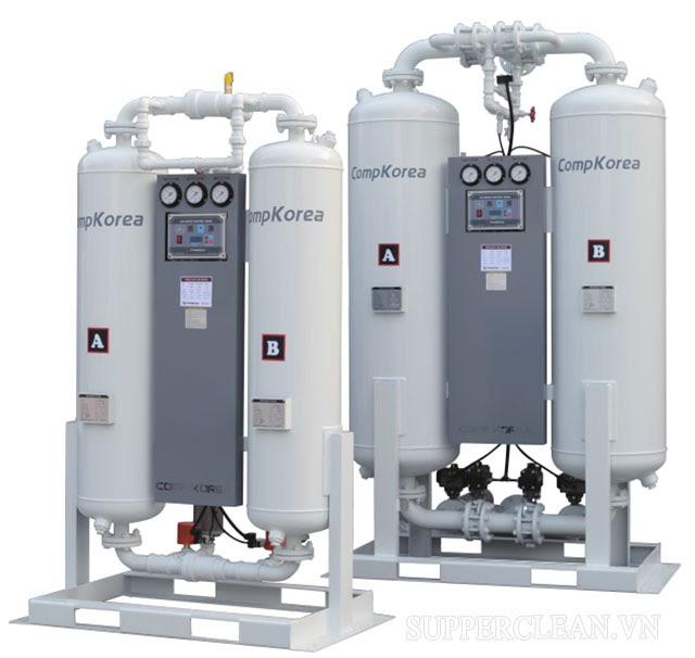 những lưu ý khi sử dụng máy sấy khí hấp thụ
