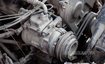 máy nén khí trên ô tô