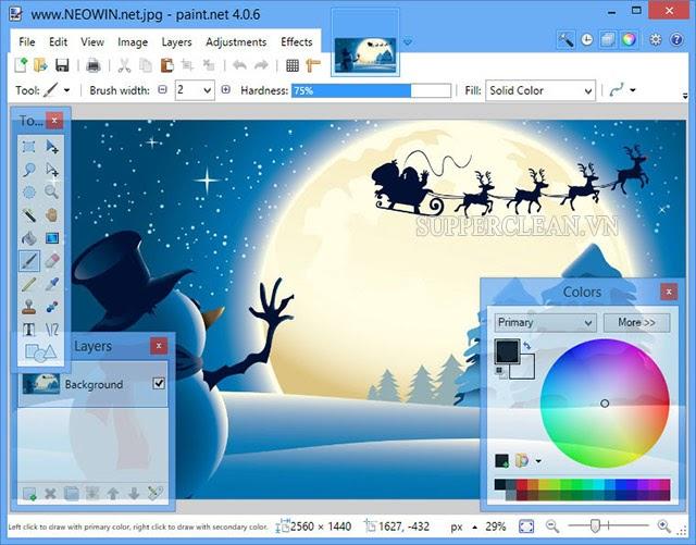 phần mềm chỉnh sửa ảnh trên máy tính
