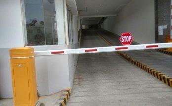 thanh chắn barrier bị lỗi
