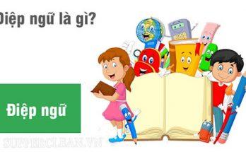 điệp ngữ là gì