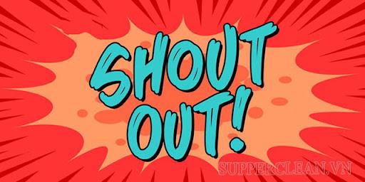 shout out là gì